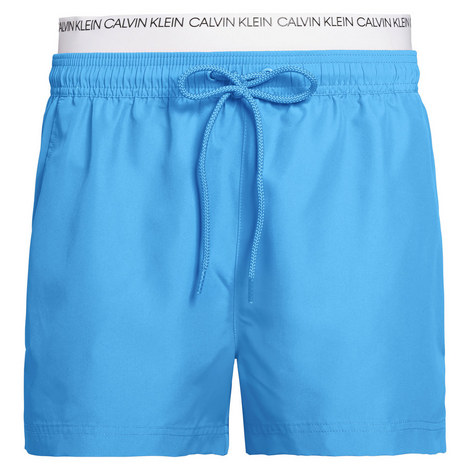 Double Waistband Swim Shorts, ${color}