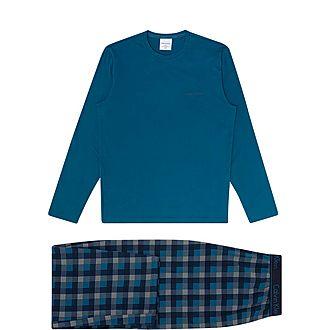 Printed Pyjama Set in a Gift Box