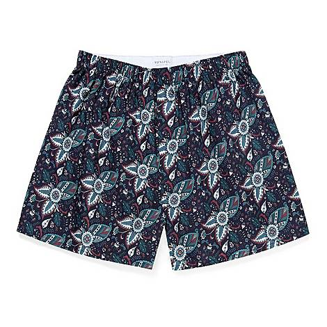 Paisley Woven Boxers, ${color}