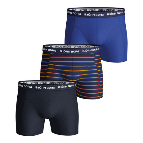 3-Pack Solid Boxers, ${color}
