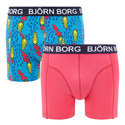 Two Pack Alien Hypebeast Print Shorts, ${color}