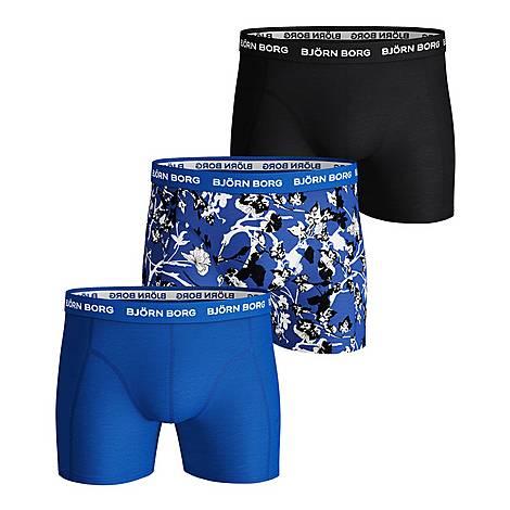 3-Pack Fleur De Jardin Boxers, ${color}