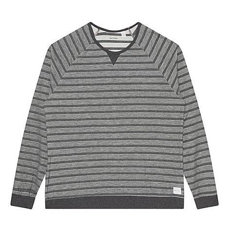 Striped Pyjama Top, ${color}