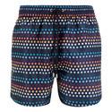 Artist Stripe Polka Dot Swim Shorts, ${color}