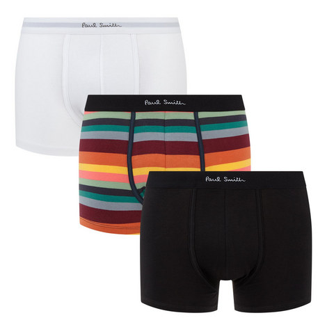 Three-Pack Stripe Trunks, ${color}