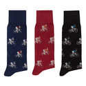 Three-Pack Bike & Rabbit Socks, ${color}