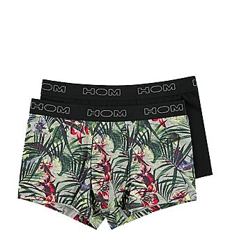 Two Pack Tropic Garden Boxers