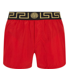 Greca Border Swim Trunks