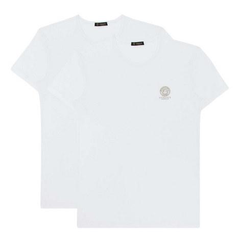 Bi-Pack Stretch Cotton T-Shirts, ${color}