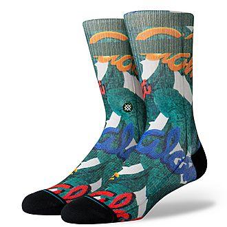 Aloha Leaves Socks