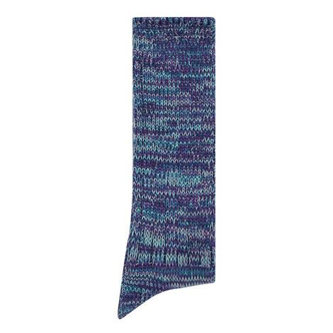 Five Colour Mix Crew Socks, ${color}