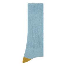 Mock Two Point Crew Socks