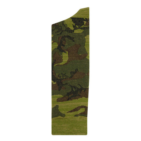 Camouflage Crew Socks, ${color}
