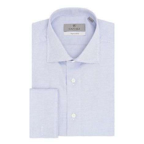 Textured Impeccable Fit Shirt, ${color}