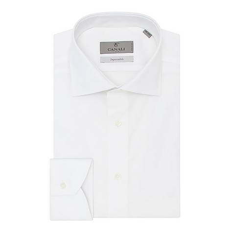 Impeccable Modern Fit Poplin Shirt, ${color}