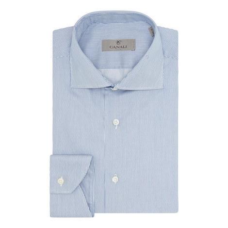 Fine Striped Shirt, ${color}