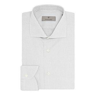 Micro Grid Check Shirt