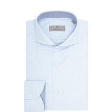 Micro-Pattern Shirt