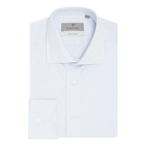 Micro Textured Impeccable Fit Shirt, ${color}