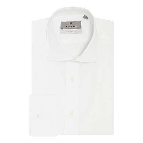 Impeccable Fit Poplin Shirt, ${color}