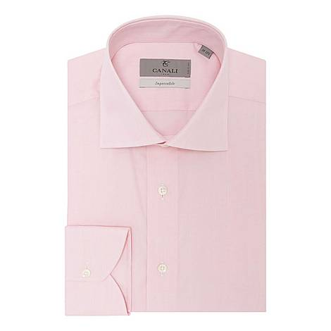 Cotton Twill Dress Shirt, ${color}