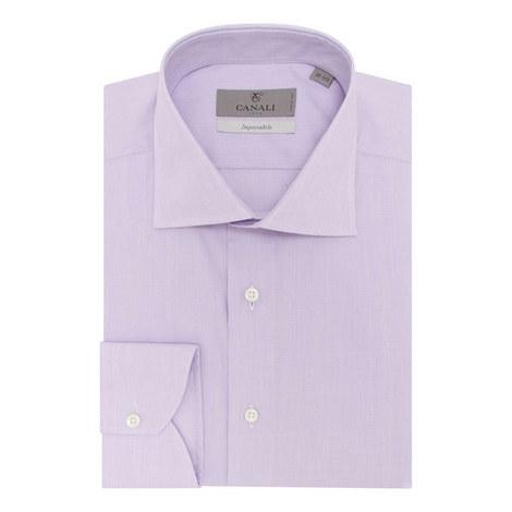 Cotton Twill Dress Shirt, ${color}