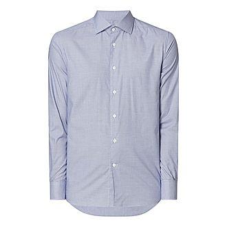 Micro Gingham Shirt