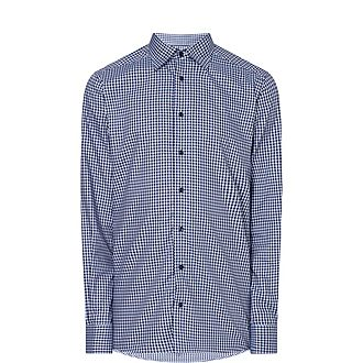 Contemporary Check Twill Shirt