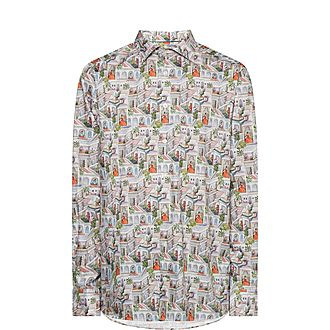 Ragamala Print Shirt