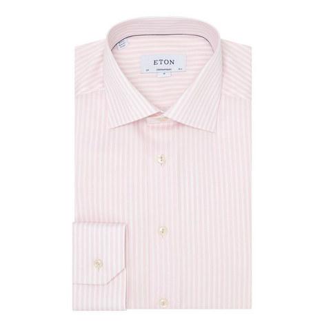 Wide Stripe Shirt, ${color}