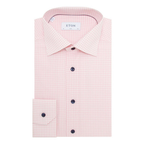 Ice Cream Gingham Shirt, ${color}