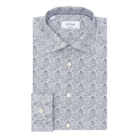 Paisley Pattern Shirt, ${color}