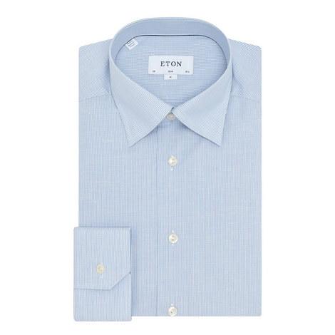 Stripe Pattern Shirt, ${color}