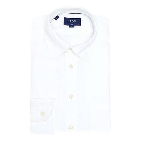 Casual Linen Shirt, ${color}