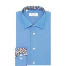 Floral Trim Contemporary Fit Shirt