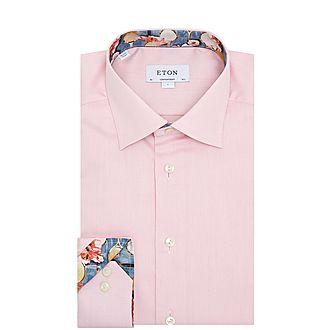 Tennis Print Formal Shirt