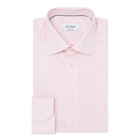 Contemporary Fit Twill Shirt, ${color}
