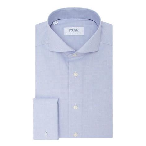 Textured Check Shirt, ${color}
