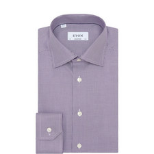 Contemporary Fit Micro Geometric Square Shirt