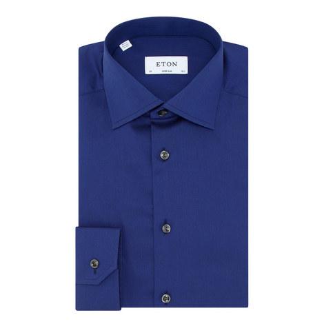 Single Cuff Twill Shirt, ${color}