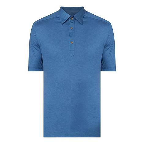 Piqué Cotton Polo Shirt, ${color}