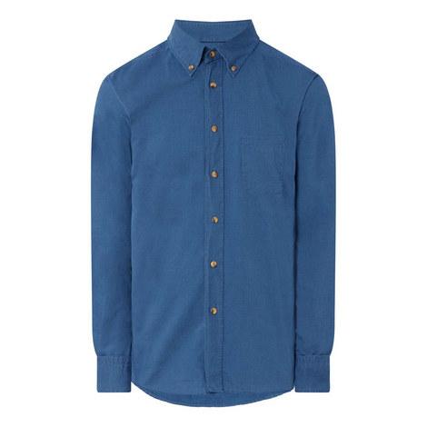 Casual Denim Shirt, ${color}