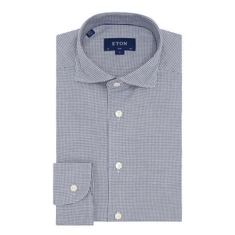Gingham Slim Fit Shirt, ${color}
