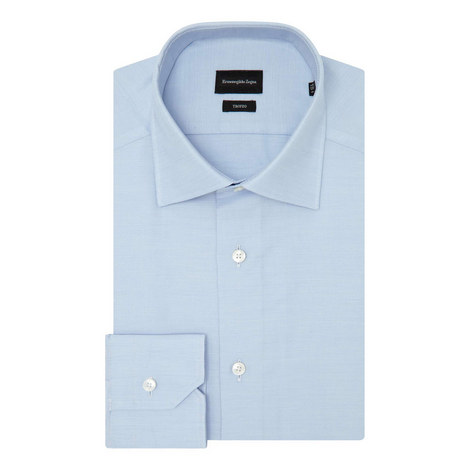 Fine Twill Formal Shirt, ${color}