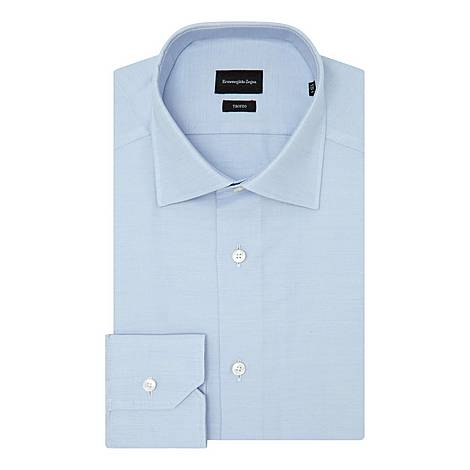 Fine Twill Formal Shirt, ${color}
