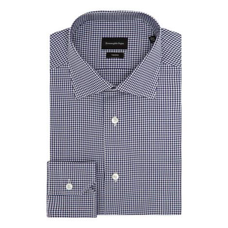 Gingham Check Formal Shirt, ${color}