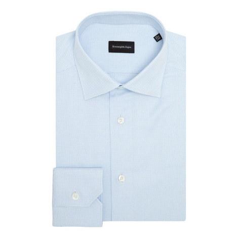 Mini Houndstooth Formal Shirt, ${color}