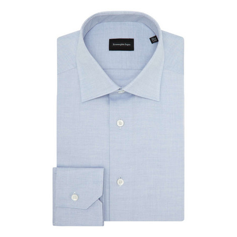 Textured Formal Shirt, ${color}