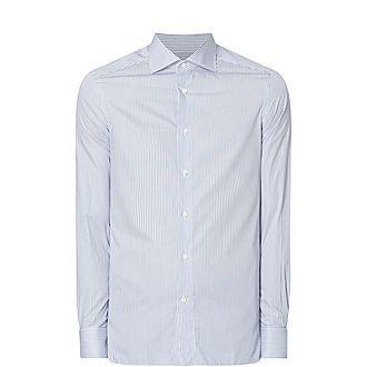 100Fili Stripe Shirt