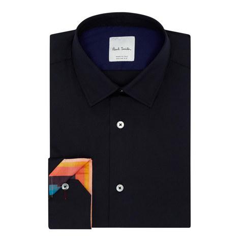 Stretch Poplin Formal Shirt, ${color}